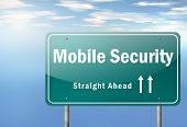 Highway Signpost Mobile Security