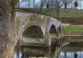 Antietam Creek And Burnside's Bridge In Sharpsburg, Maryland