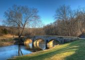 Burnside's Bridge In Sharpsburg, Maryland