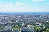 View over Munich, Bavaria