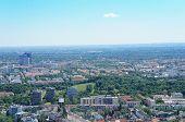 View over Munich, Bavaria