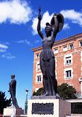 Vencedora statue, Teruel.