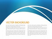 Abstract vector background illustration design blue color