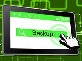 Backup Online Shows World Wide Web And Archives