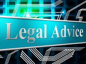 Legal Advice Represents Knowledge Assistance And Justice