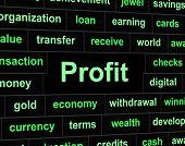 Revenue Profit Shows Profits Lucrative And Earning