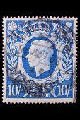 Jahrgang Großbritannien-Briefmarke