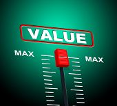 Value Max Represents Upper Limit And Cost