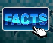 Facts Button Represents World Wide Web And Answers