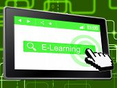 E Learning Shows World Wide Web And College