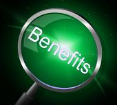 Benefits Magnifier Represents Search Pay And Magnification