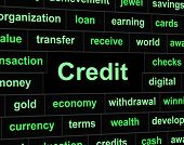 Debts Credit Means Debit Card And Bankcard