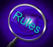 Rules Magnifier Means Searching Guideline And Protocol