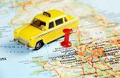 Liverpool Uk  Map Taxi
