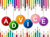 Advisor Advice Indicates Tips Info And Instructions