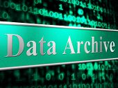 Data Archive Means File Transfer And Backup