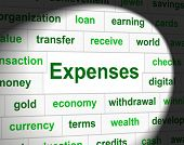 Costs Expenses Represents Price Financial And Balance