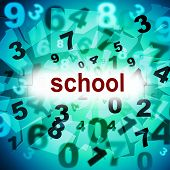 Education School Indicates University Develop And Studying