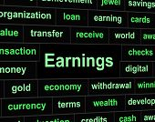Revenue Earnings Means Wages Revenues And Salary