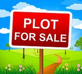 Plot For Sale Means Real Estate Agent And Hectares