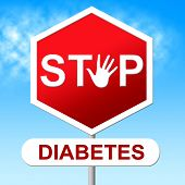 Diabetes Stop Represents Warning Sign And Control