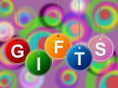 Gift Gifts Indicates Surprise Occasion And Giftbox