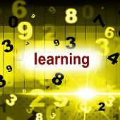 Learn Learning Represents School Develop And Educate