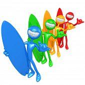 Spectrum Shaka Surfers