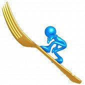 Fork Surfing