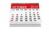 Calendar October 2014