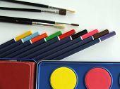 drawing material school