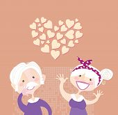 Abuelos amor eterna