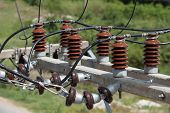 Electrical insulators 6
