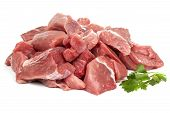 Slices Of Pork Meat