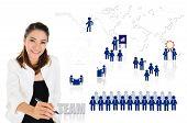 Teamwork of business concept