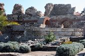 Ancient fortress in Nessebar, Bulgaria