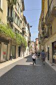 Urban Scene In Verona