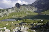 Mountains and mountain lakes in Bulgaria