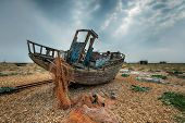 Fishing Boat At Dungeness