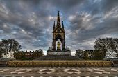 Albert Memorial, London From Rear