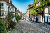 Cobbled Streets In Rye