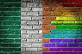 Dark Brick Wall - Lgbt Rights - Ireland