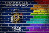 Dark Brick Wall - Lgbt Rights - Wisconsin