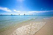Beach View In Boracay