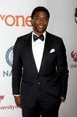 LOS ANGELES - FEB 6:  Chadwick Boseman at the 46th NAACP Image Awards Arrivals at a Pasadena Convention Center on February 6, 2015 in Pasadena, CA