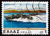 Postage Stamp Greece 1978 Torpedo Boats