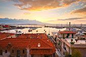 pic of piraeus  - Morning in Mikrolimano marina in Athens - JPG