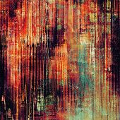Aging grunge texture designed as abstract old background. With different color patterns: yellow (beige); brown; red (orange); purple (violet); cyan