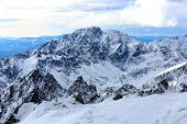 Mountains landscape. High Tatras, Slovakia