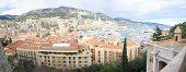 image of hercules  - Panoramic view of Monte Carlo and the Hercule  - JPG